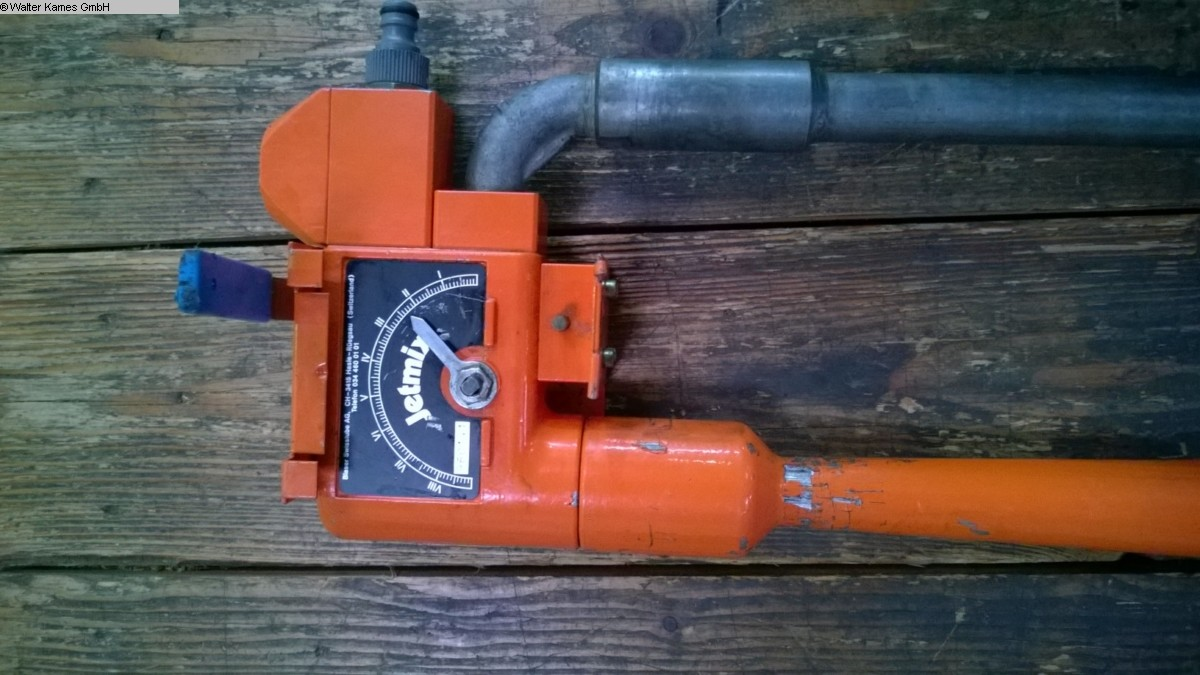 used mixer and kneader BLASER JETMIX