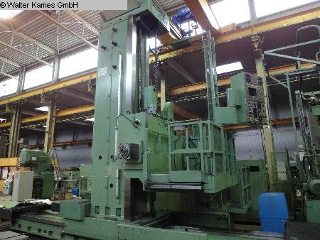 used Ram-Type Floor Boring and Milling M/C WOTAN Rapid 4 P