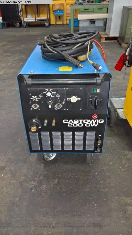 gebrauchte Schutzgasschweißanlage CASTOLIN + EUTECTIC CASTOWIG 200 GW