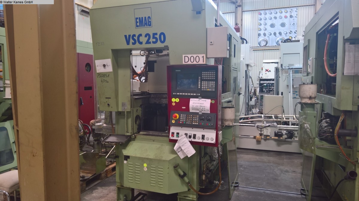 used  Vertical Turning Machine EMAG VSC 250
