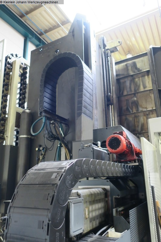 gebrauchte Fahrständerfräsmaschine SHW UFZ 6/L