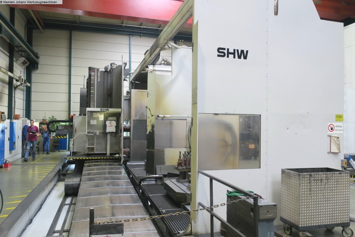 gebrauchte Metallbearbeitungsmaschinen Fahrständerfräsmaschine SHW UFZ 6/L
