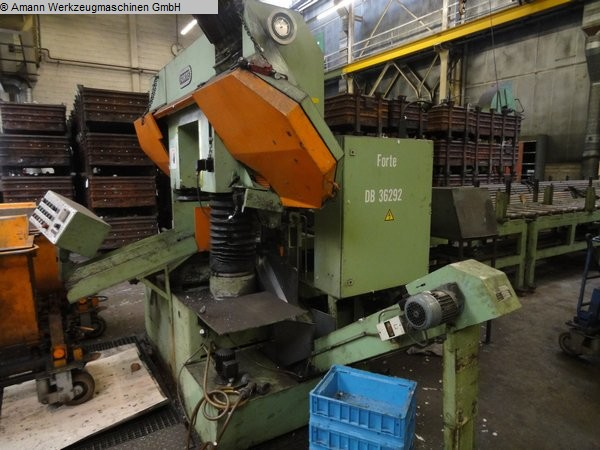 used machine Band Saw - Automatic - Horizontal FORTE SBA/S 421