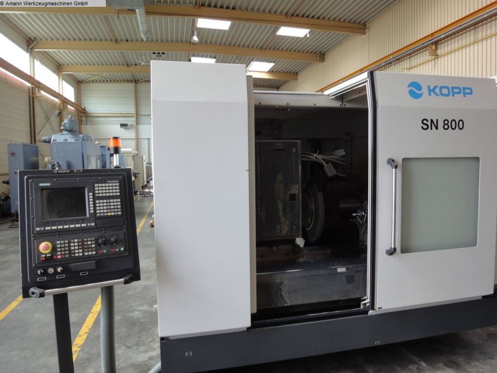 used machine Camshaft Grinding Machine KOPP SN 800