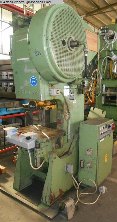Maschine: SCHULER PN 25/200