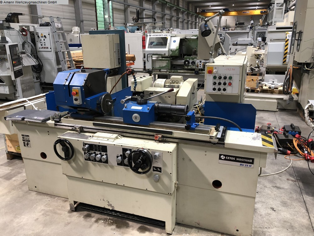 Maschine: CETOS HOSTIVAR BU 25 H / 750
