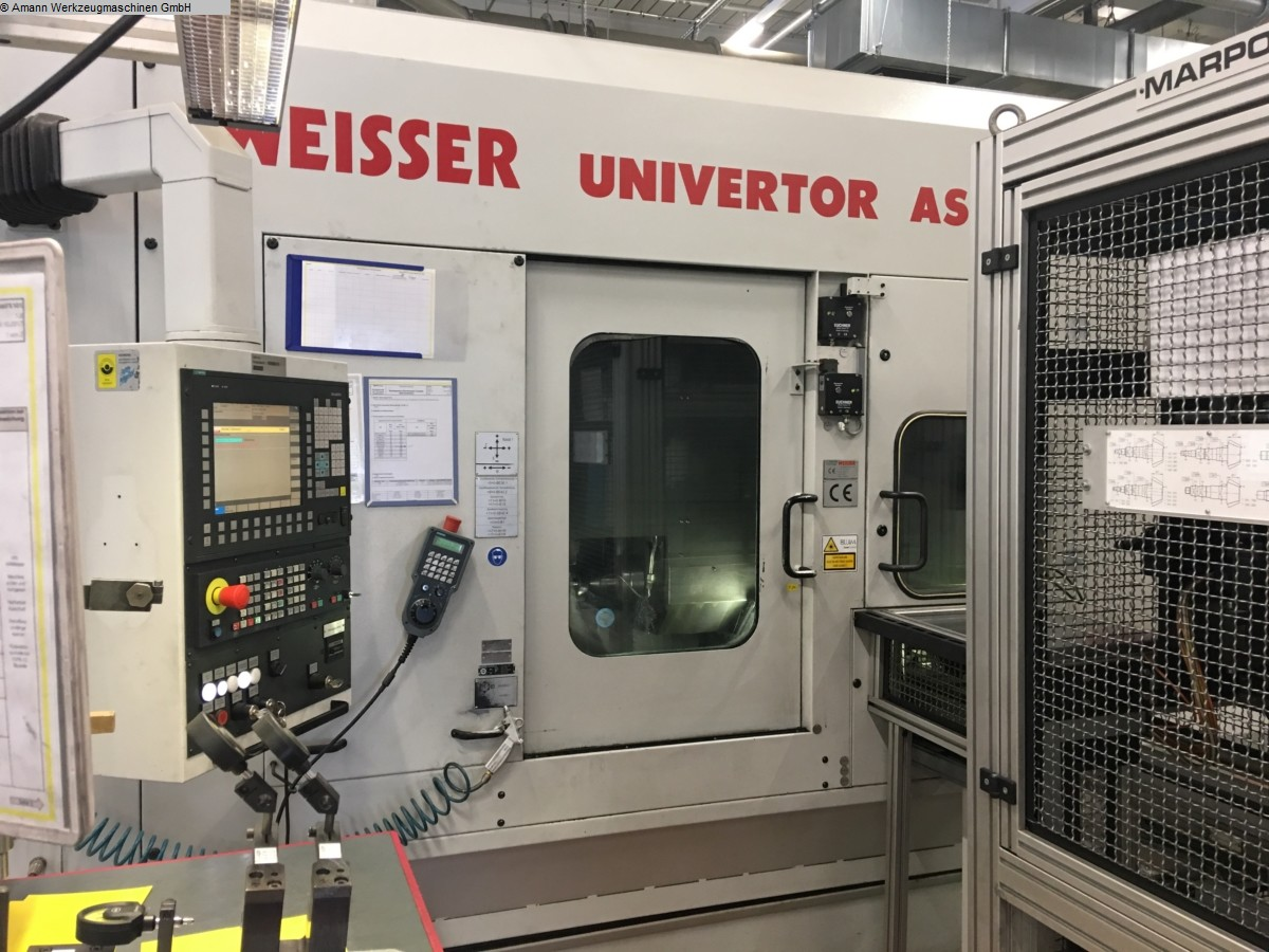 Maschine: WEISSER Univertor AS 400