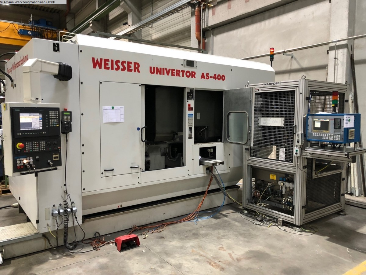 used machine CNC Lathe WEISSER Univertor AS 400