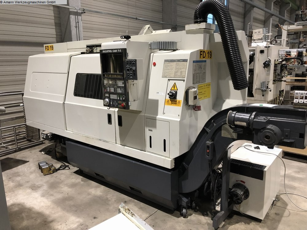 used machine CNC Lathe MAZAK Slanturn 25