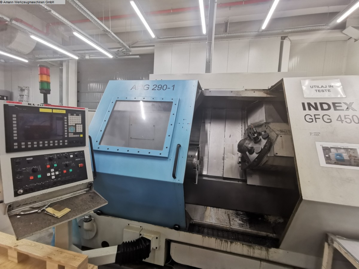 used  CNC Lathe INDEX GFG450