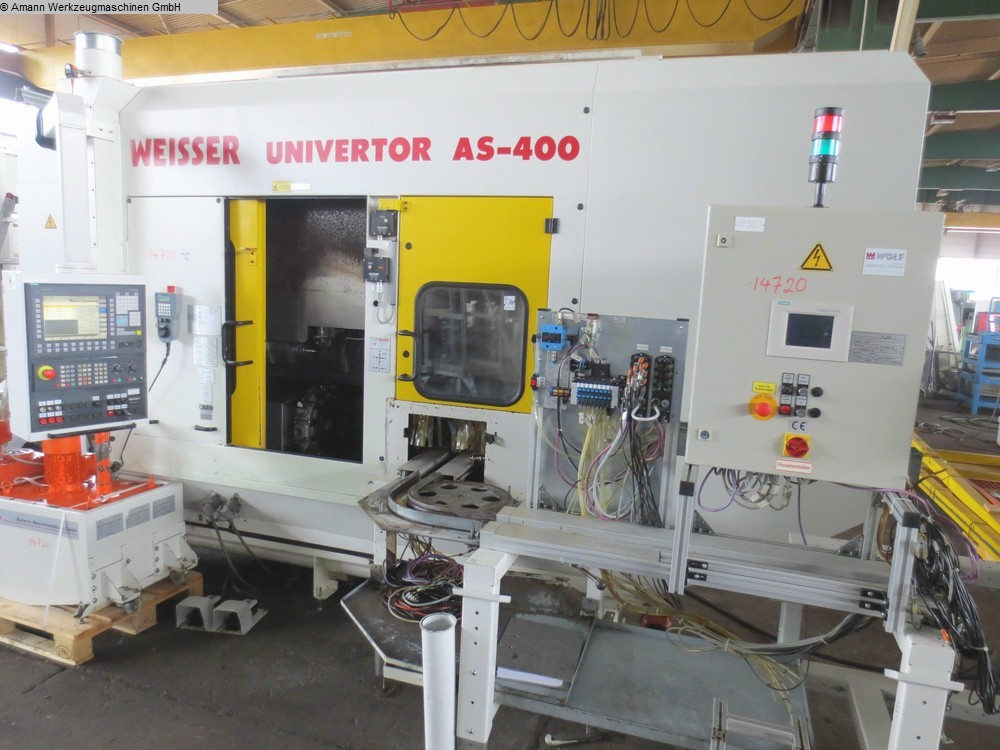 used  CNC Lathe WEISSER Univertor AS 400