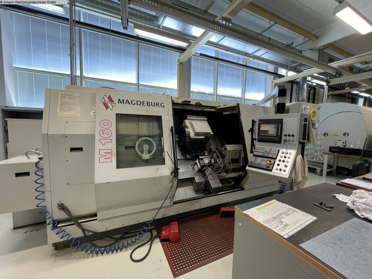 used  CNC Lathe - Inclined Bed Type MAGDEBURG M160U2