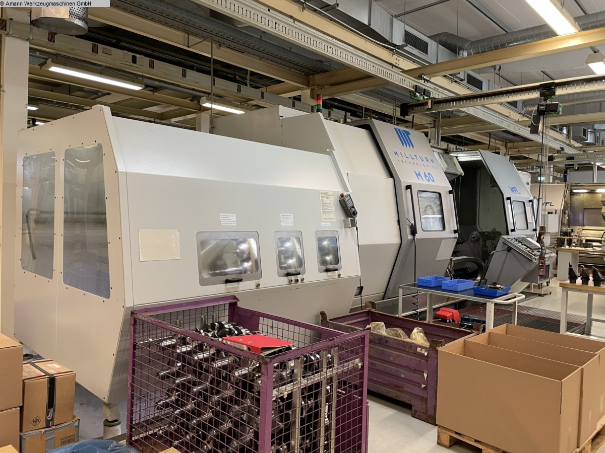 used  CNC Turning- and Milling Center WFL-MILLTURN M60x2000