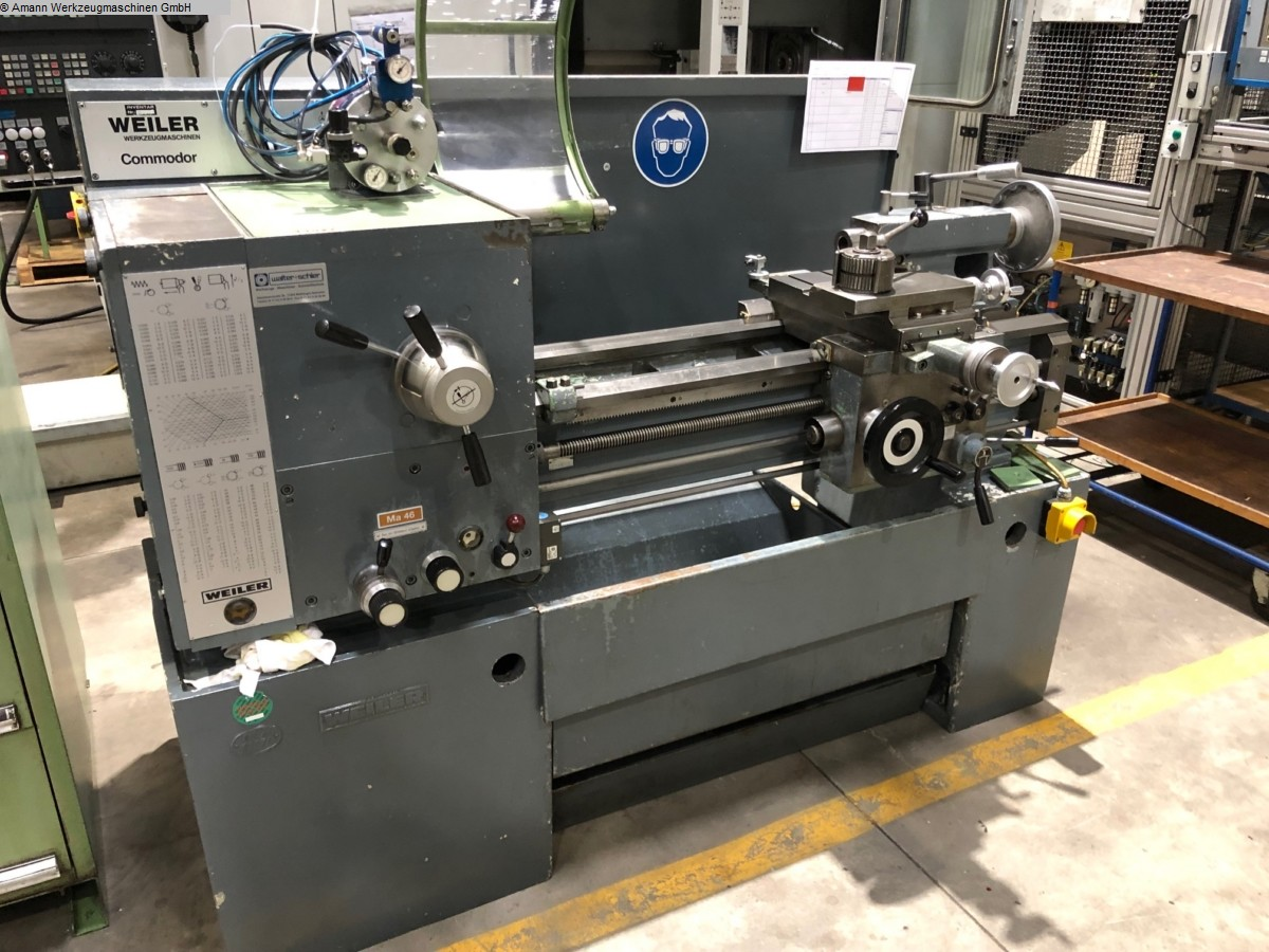 used Center Lathe WEILER Commodor