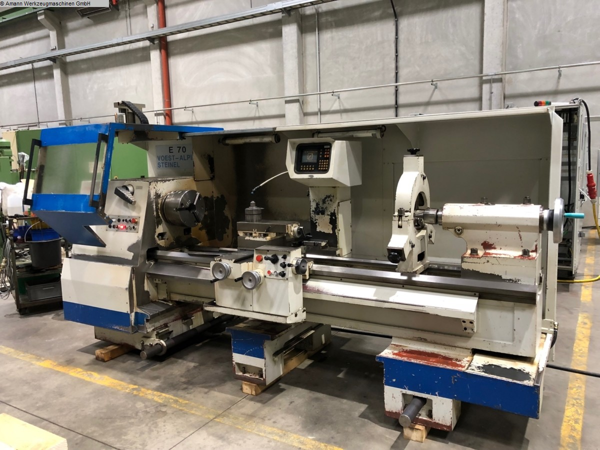 used Lathe -  cycle-controlled VOEST-ALPINE-STEINEL E 70 x 2000