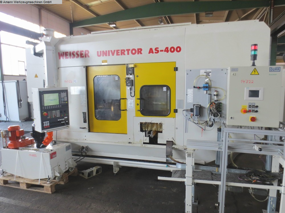 used Lathes CNC Lathe WEISSER Univertor AS 400