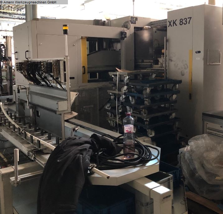 used Gear cutting machines Cold Rolling Machine EX-CELL-O XK 837