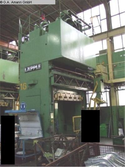 gebrauchte Pressen und Bördelmaschinen Doppelständerziehpresse - Hydraulisch LAEPPLE ZEH 500