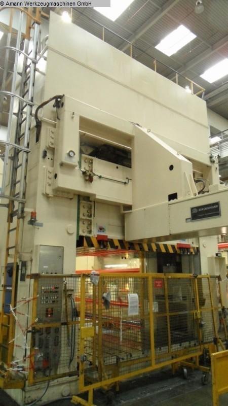 gebrauchte Pressen und Bördelmaschinen Doppelständerziehpresse - Hydraulisch MÜLLER ZE 800-31.1.4