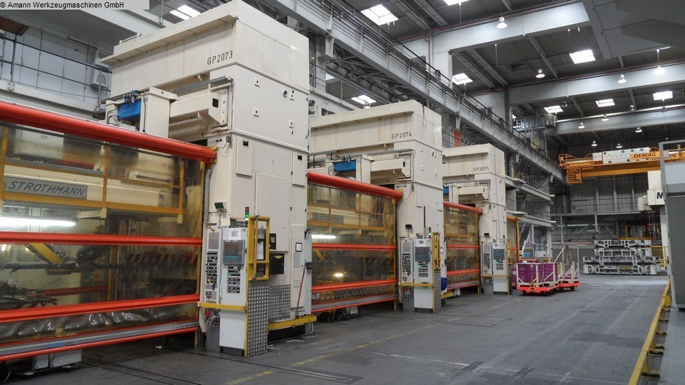 gebrauchte Pressen und Bördelmaschinen Doppelständerziehpresse - Hydraulisch MÜLLER ZE 600 25.4.2