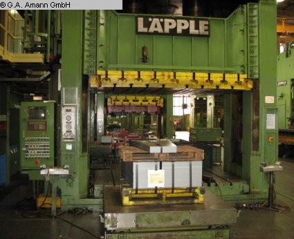 used Presses Double-Column Presse LAEPPLE SE 500