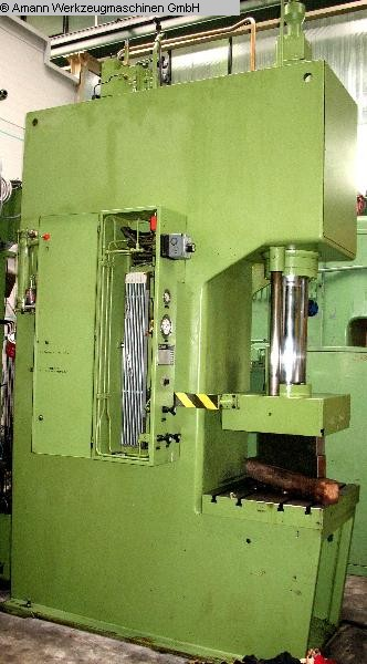 gebrauchte Pressen und Bördelmaschinen Einständerpresse - Hydraulisch DUNKES HZ 100