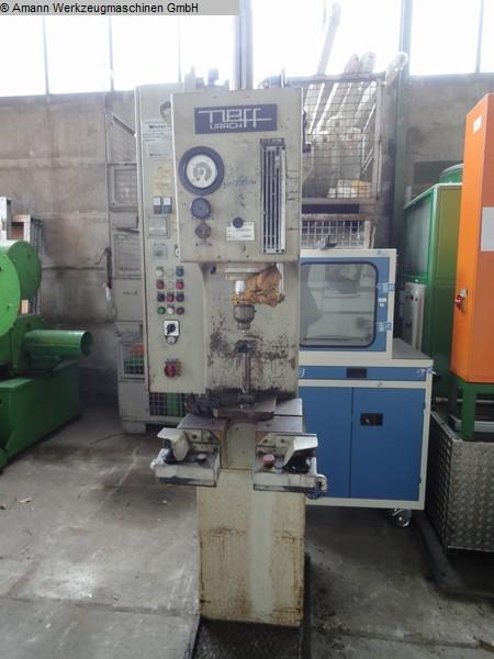 gebrauchte Pressen und Bördelmaschinen Einständerpresse - Hydraulisch NEFF THS6,3