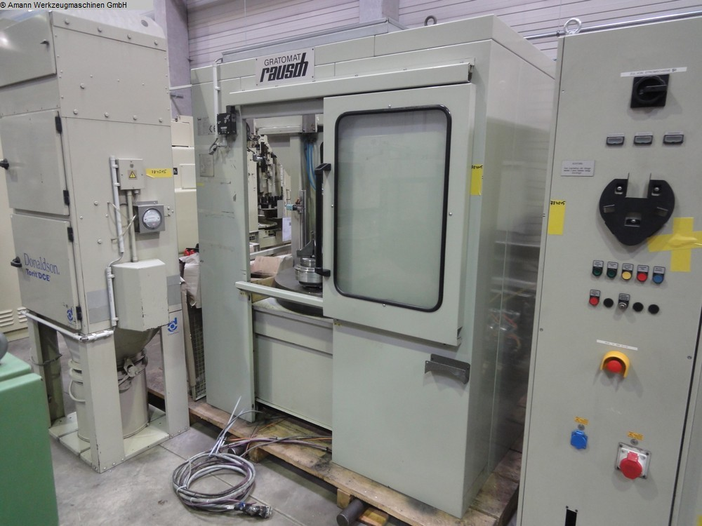 used Gear cutting machines Gear Deburring Machine RAUSCH Gratomat MS150/2-760