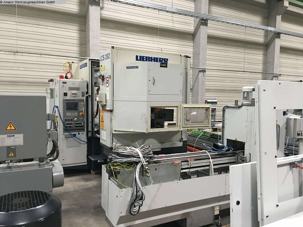used Gear cutting machines Gear Grinding Machine LIEBHERR LCS 282
