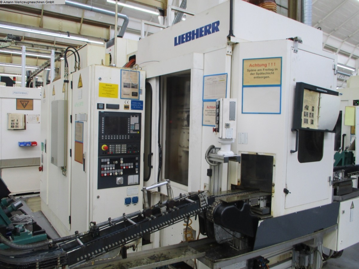used Gear cutting machines Gear Shaping Machine LIEBHERR LS 122