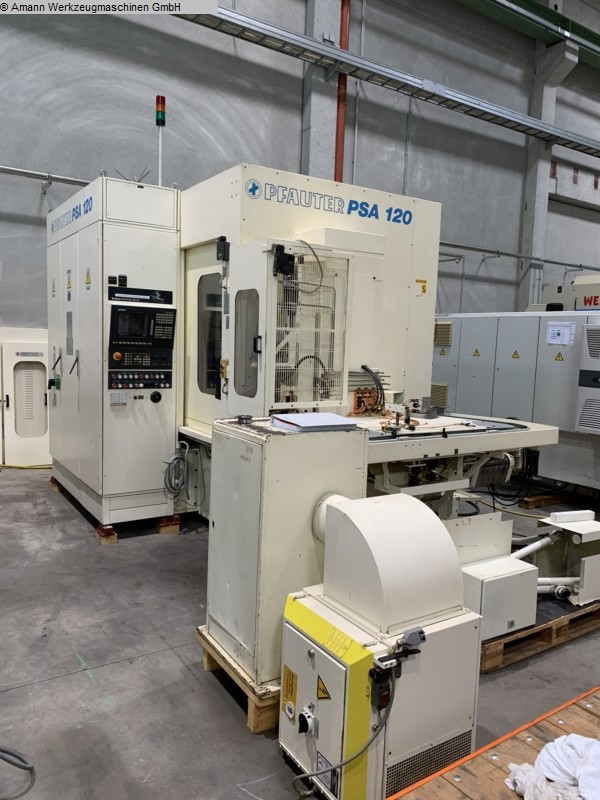 used Gear cutting machines Gear Shaping Machine PFAUTER PSA 120