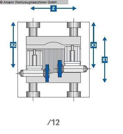 gebrauchte Nockenwellenschleifmaschine JUNKER JUCAM 6XS /12