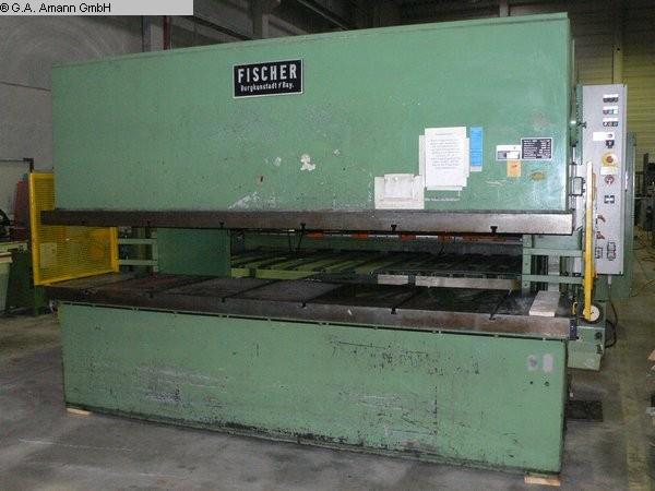 gebrauchte Pressen und Bördelmaschinen Hydraulische Presse FISCHER HAKS 10/3200 (UVV)