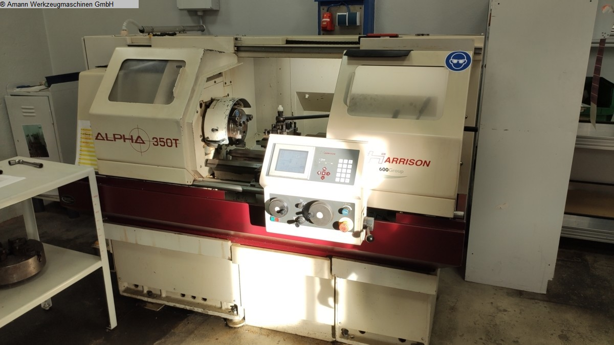 used Lathes Lathe -  cycle-controlled HARRISON ALPHA 350 T