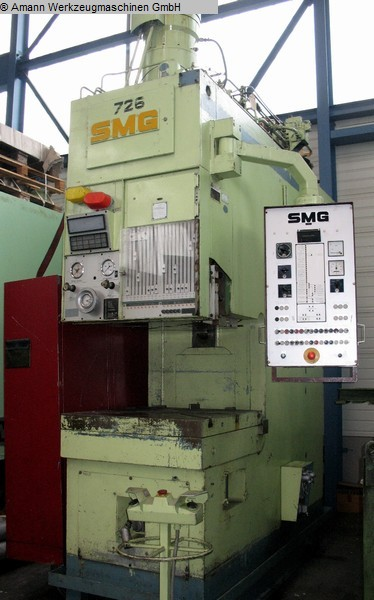 used Machines available immediately Single Column Drawing Press - Hydraulic SMG CZ 160 (UVV)