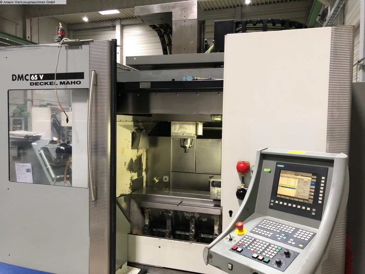 used Machines available immediately milling machining centers - vertical DMG DMC 65 V