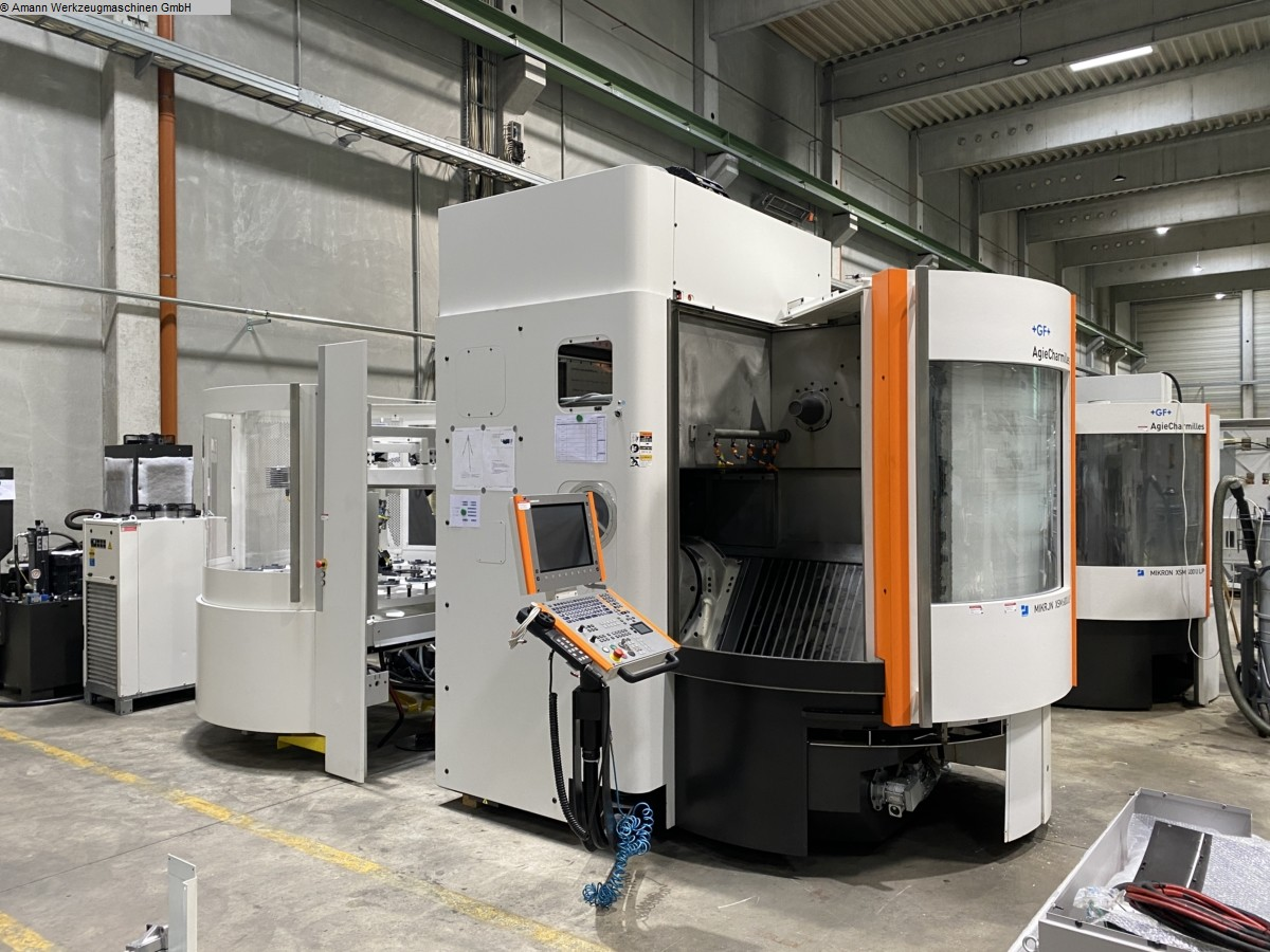 used Boring mills / Machining Centers / Drilling machines Machining Center - Universal MIKRON-AGIE CHARMILLES XSM 600 U-LP