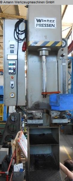 used Presses Single Column Press - Hydraulic WINTER MT 6,3