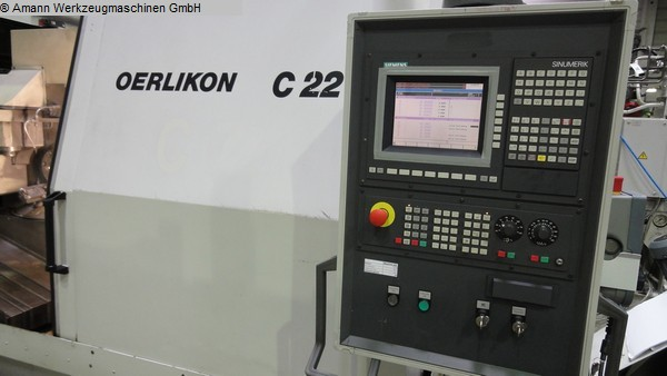 used Gear cutting machines Spiral Bevel Gear Cutting Machine OERLIKON C22