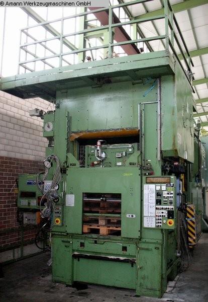 gebrauchte Pressen und Bördelmaschinen Stanzautomat-Doppelständer HAULICK + ROOS RVD 160-1250 R