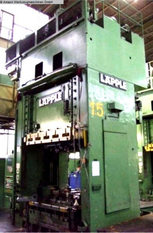 used Double Column Drawing Press -Hydr. LAEPPLE ZEH 500