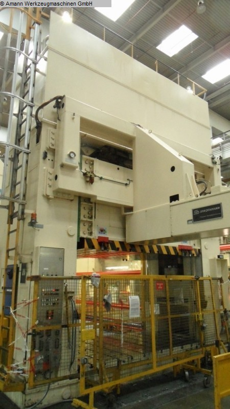 used Double Column Drawing Press -Hydr. MÜLLER ZE 800-31.1.5