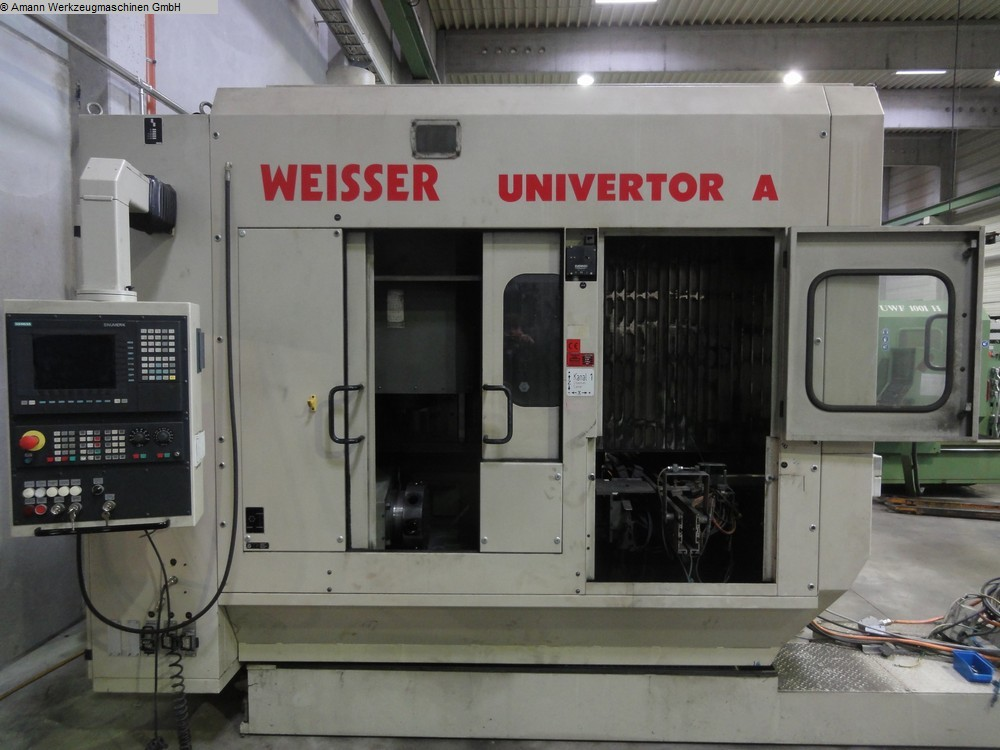 used Lathes Vertical Turning Machine WEISSER Univertor A-90L