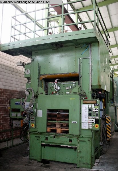 used Presses double-sided high speed press HAULICK + ROOS RVD 160-1250 R