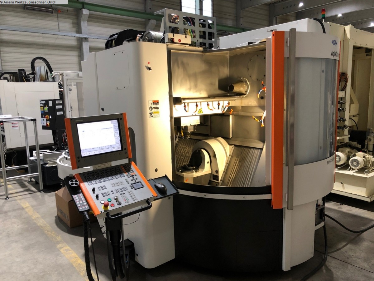 used Milling machines milling machining centers - universal MIKRON-AGIE CHARMILLES XSM 400U LP