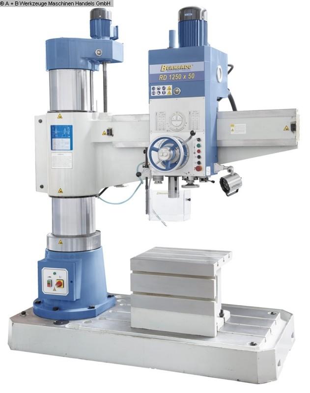 gebrauchte Maschine Radialbohrmaschine BERNARDO RD 1250x50
