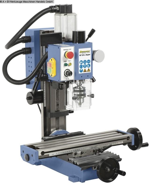 gebrauchte Maschine Bohr- und Fräsmaschine BERNARDO KF 20 L Super