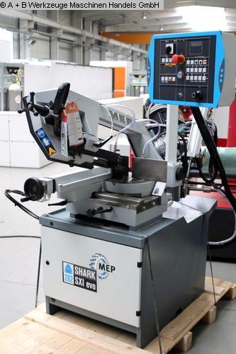 gebrauchte Maschine Bandsäge MEP - Halbautomat SHARK 282 SXI - Evo