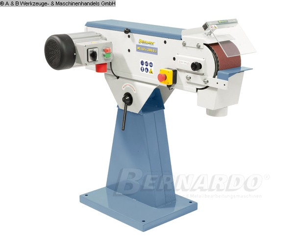 gebrauchte Maschine Bandschleifmaschine BERNARDO MS 75 x 2000 S-2