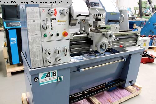 gebrauchte  Drehmaschine-konventionell-elektronisch BERNARDO MASTER 400-1000 Digital
